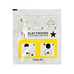 Coppia Elettrodi Pediatrici per Defibrillatore Schiller Fred Easy