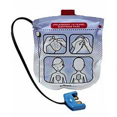 Coppia di Elettrodi Pediatrici per Defibrillatore Defibtech Lifeline View
