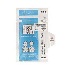 Coppia di Elettrodi Pediatrici per Defibrillatore Philips Heartstart FR2