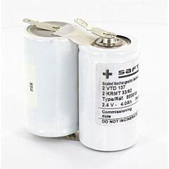 Batteria Saft 800818 2 VTD 137 per Luci di Emergenza
