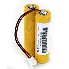 Batteria Compatibile Saft 802218 4 VTCs 1200 per Luci di Emergenza Luminox 10780