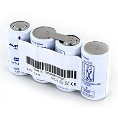 Batteria Compatibile Saft 804115 4 VNT Cs per Luci di Emergenza