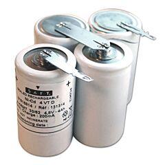 Batteria Saft 131314 4 VT D per Luci di Emergenza