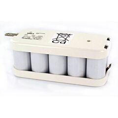 Batteria Saft 131774 5 VTD-2 per Luci di Emergenza