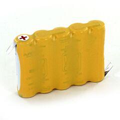 Batteria Compatibile Saft 805704 5 VST AAL per Luci di Emergenza