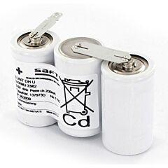 Batteria Saft 137973 3 VNT DH U per Luci di Emergenza
