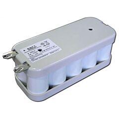 Batteria Saft 120447 9 VR4 D per Luci di Emergenza