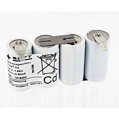 Batteria Saft 781548 4 VNT Cs per Luci di Emergenza