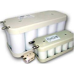 Batteria Saft 139655 10 VRE 1/2 AA per Luci di Emergenza