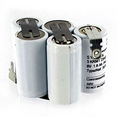 Batteria Compatibile Saft 787641 5 VT CS HC per Luci di Emergenza