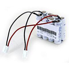 Batteria Compatibile Saft 803981 2x 4 VST AAL per Luci di Emergenza