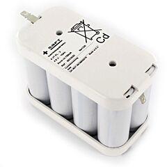Batteria Saft 803183 4 VT FL -2 per Luci di Emergenza