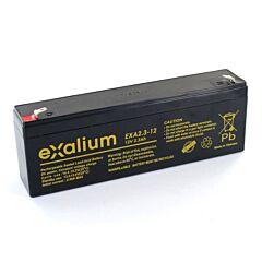 Batteria Exalium al Piombo - 12 V 2.3 Ah