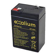 Batteria Exalium al Piombo - 6 V 4 Ah