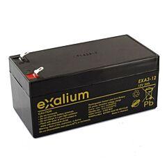 Batteria Exalium al Piombo - 12 V 3 Ah