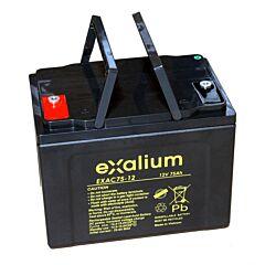 Batteria Exalium al Piombo - 12 V 75 Ah