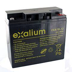 Batteria Exalium al Piombo - 12 V 18 Ah FR