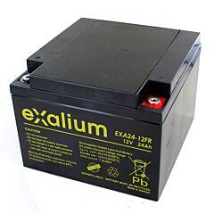 Batteria Exalium al Piombo - 12 V 24 Ah FR