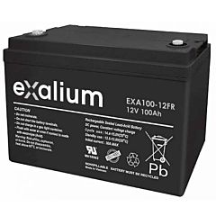 Batteria Exalium al Piombo - 12 V 100 Ah FR