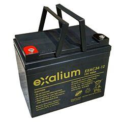 Batteria Exalium al Piombo - 12 V 34 Ah