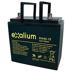 Batteria Exalium al Piombo - 12 V 55 Ah