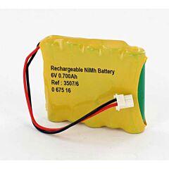 Batteria Compatibile per Sirena Allarme Bticino Legrand 3507/6