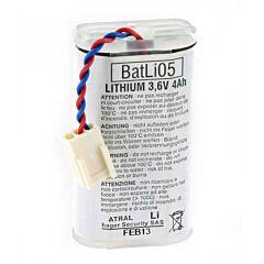 Batteria per Allarme Originale Daitem BATLI05