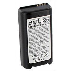 Batteria per Allarme Originale Daitem BATLI26