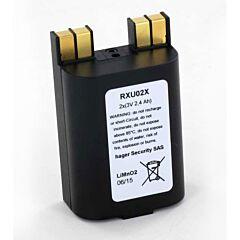 Batteria per Allarme Originale Daitem RXU02X