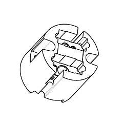 Bender + Wirth 832 - Portalampade GY22