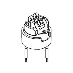 Bender + Wirth 930 - Portalampade GZZ9,5