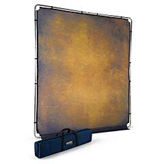 Lastolite - Fondale EzyFrame Vintage Tabacco 2x2,3m