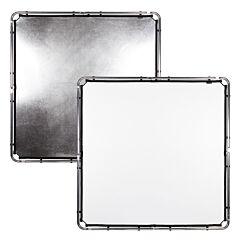 Lastolite - Tessuto SkyRapdid 1,5x1,5m argento e bianco