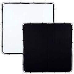 Lastolite - Tessuto per skylite 2mX2m nero e bianco