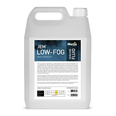 Martin - JEM Low-Fog Fluid, High Density, 4x5L