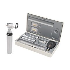 HEINE TESTINA APERTA G100 + OFTALMOSCOPIO BETA 200 con manico a batterie